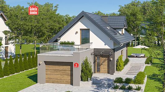 Projekt domu - Dom przy Migdałowej 5