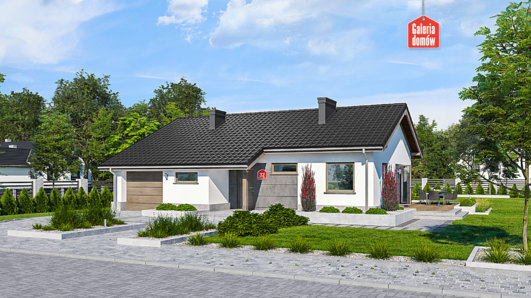 Projekt domu - Dom przy Przyjemnej 32