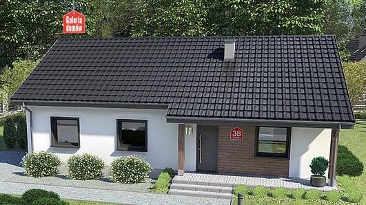 Projekt domu - Dom przy Bukowej 38