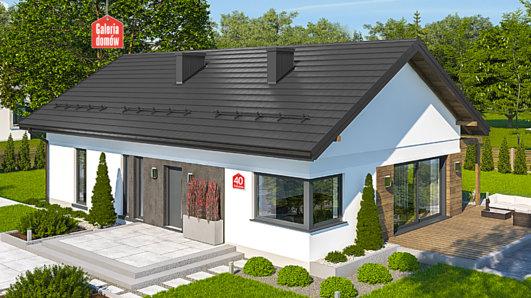 Projekt domu - Dom przy Bukowej 40