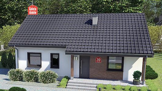 Projekt domu - Dom przy Bukowej 39