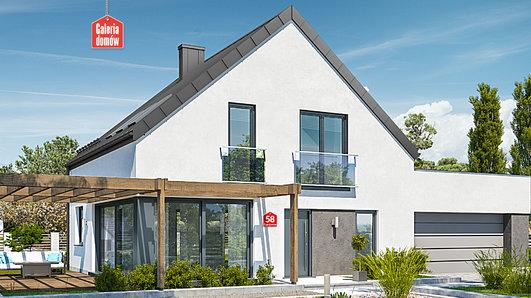 Projekt domu - Dom przy Cyprysowej 58