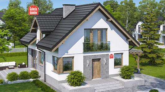 Projekt domu - Dom przy Cyprysowej 59