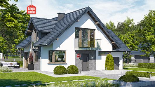 Projekt domu - Dom przy Cyprysowej 60