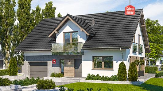 Projekt domu - Dom przy Cyprysowej 101