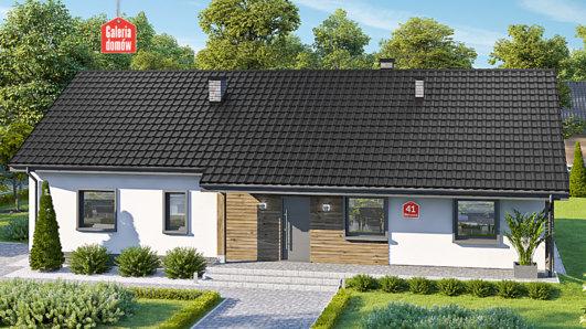 Projekt domu - Dom przy Bukowej 41