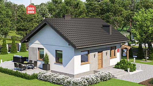 Projekt domu - Dom przy Topolowej 5