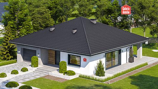 Projekt domu - Dom przy Rubinowej 7