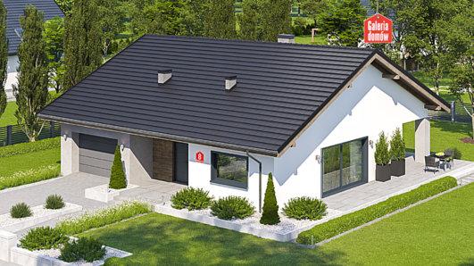 Projekt domu - Dom przy Rubinowej 8