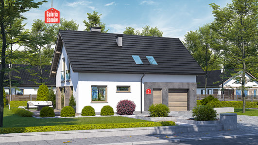 Projekt domu - Dom przy Głogowej 5