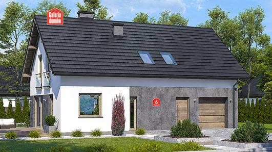 Projekt domu - Dom przy Głogowej 6