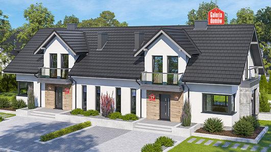 Projekt domu - Dom przy Modrzewiowej 19