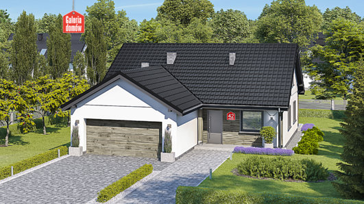 Projekt domu - Dom przy Bukowej 42