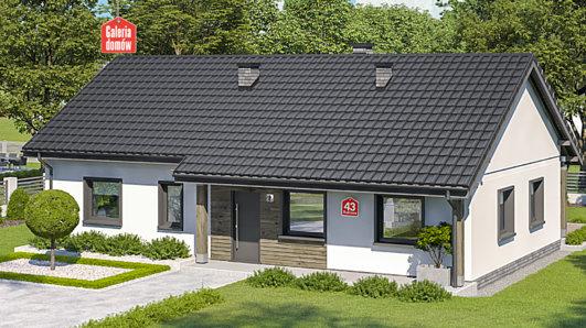 Projekt domu - Dom przy Bukowej 43