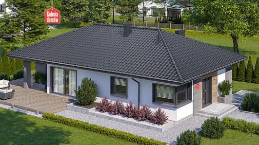 Projekt domu - Dom przy Pastelowej 21