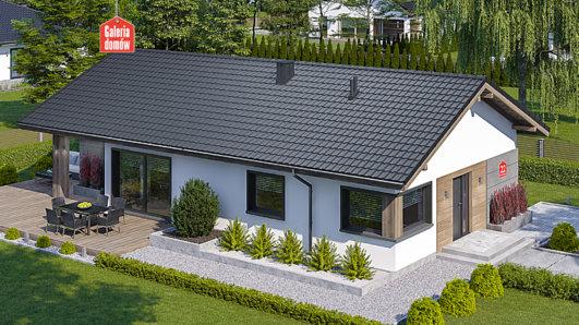 Projekt domu - Dom przy Pastelowej 22
