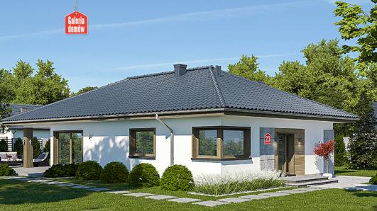 Projekt domu - Dom przy Pastelowej 23