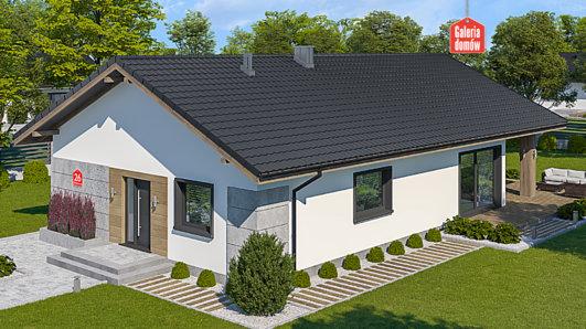 Projekt domu - Dom przy Pastelowej 26