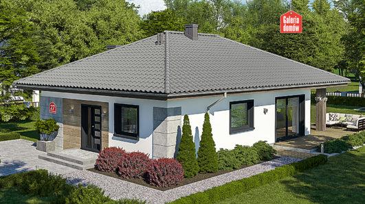 Projekt domu - Dom przy Pastelowej 27