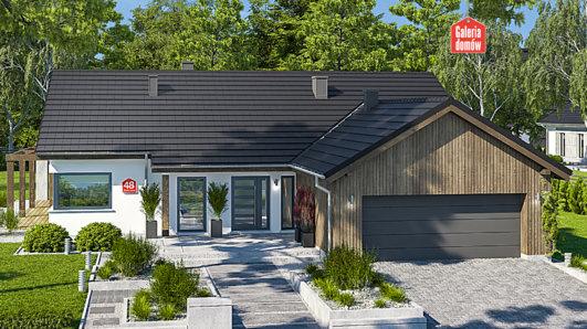 Projekt domu - Dom przy Bukowej 48