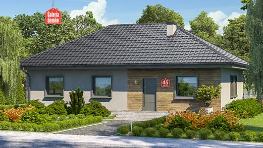 Projekt domu - Dom przy Bukowej 45