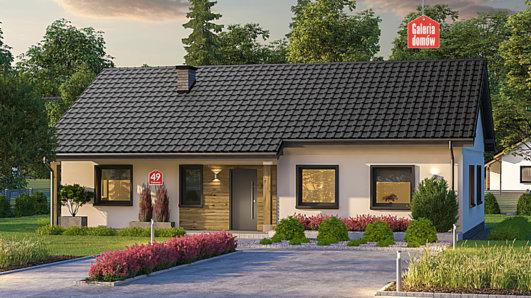 Projekt domu - Dom przy Bukowej 49