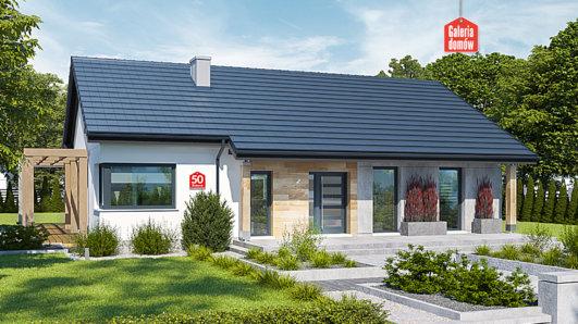 Projekt domu - Dom przy Bukowej 50