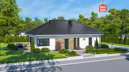 Projekt domu - Dom przy Bukowej 46
