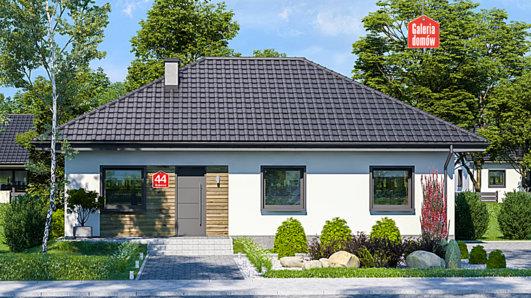 Projekt domu - Dom przy Bukowej 44