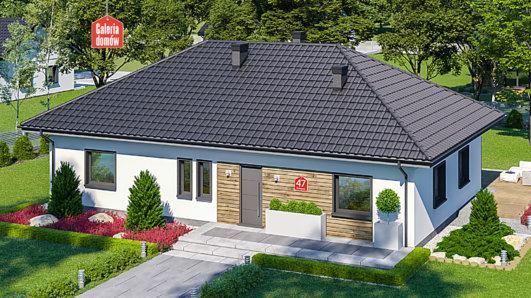 Projekt domu - Dom przy Bukowej 47