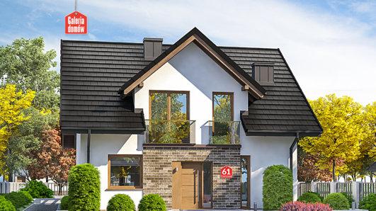 Projekt domu - Dom przy Cyprysowej 61
