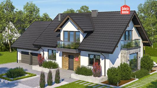 Projekt domu - Dom przy Wiosennej 22