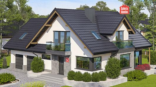 Projekt domu - Dom przy Cyprysowej 62