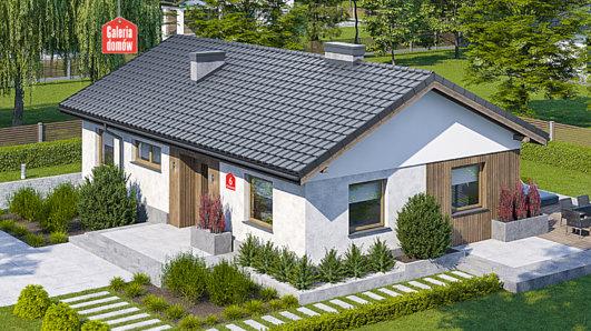 Projekt domu - Dom przy Klonowej 6