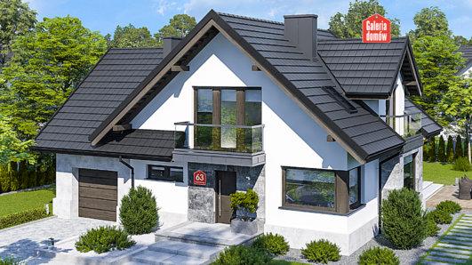 Projekt domu - Dom przy Cyprysowej 63
