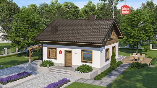 Projekt domu - Dom przy Imbirowej 7