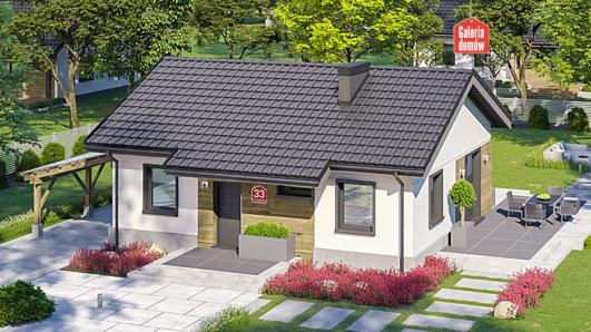 Projekt domu - Dom przy Przyjemnej 33