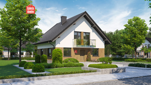Projekt domu - Dom przy Oliwkowej 6