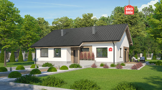 Projekt domu - Dom przy Przyjemnej 34