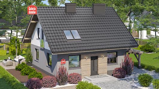 Projekt domu - Dom przy Cyprysowej 64