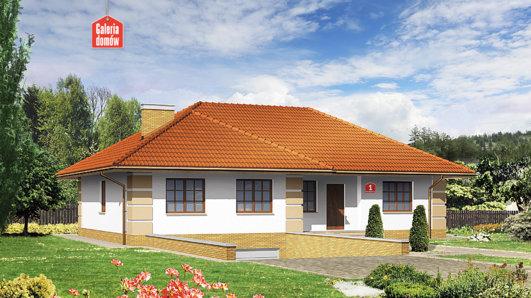 Projekt domu - Dom przy Marcepanowej