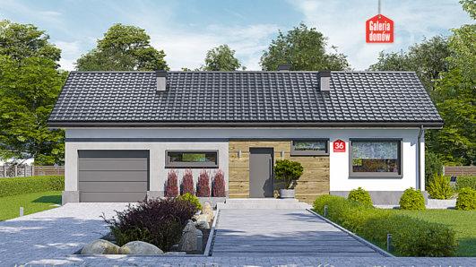 Projekt domu - Dom przy Przyjemnej 36