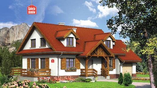 Projekt domu - Dom przy Modrzewiowej