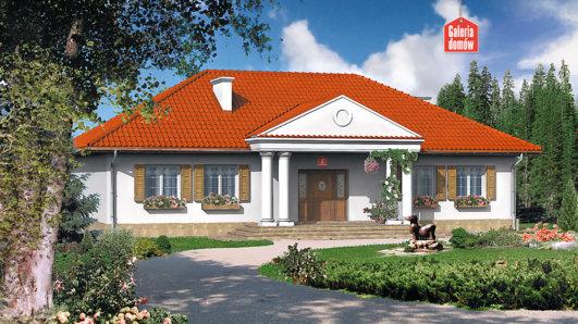 Projekt domu - Dom przy Zamkowej