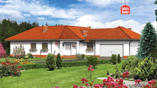 Projekt domu - Dom przy Parkowej