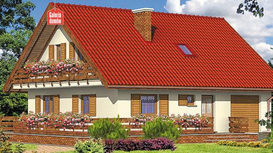 Projekt domu - Dom przy Malinowej