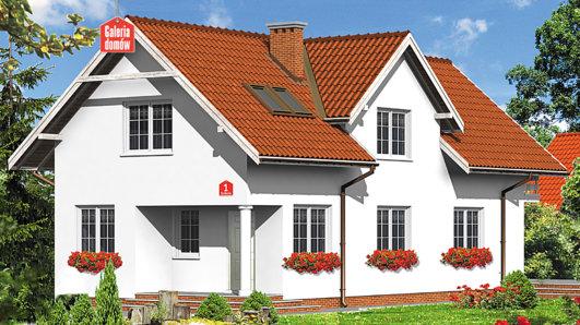 Projekt domu - Dom przy Sokolej