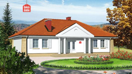 Projekt domu - Dom przy Jesionowej