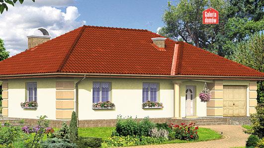 Projekt domu - Dom przy Kwiatowej