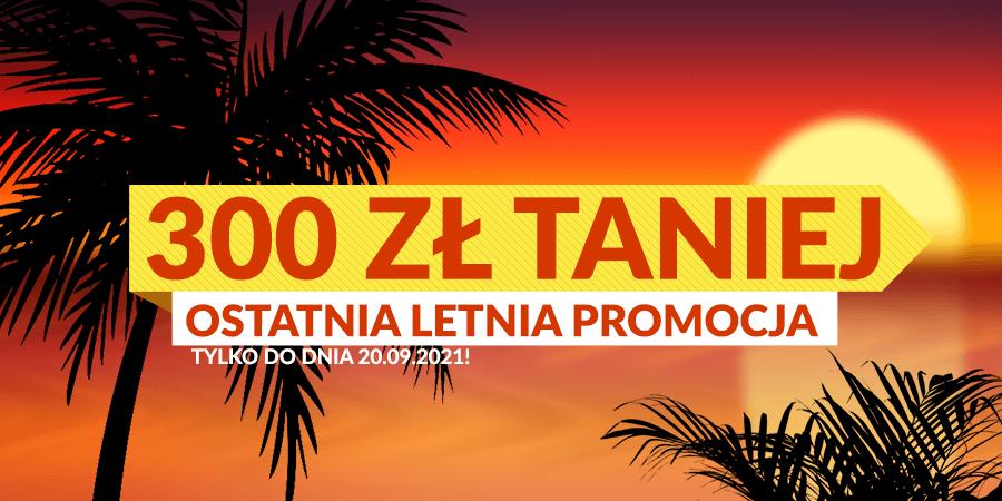 Promocja -300 zł